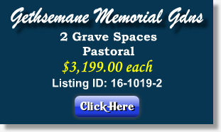 Gardens Of Gethsemani Plots For Sale