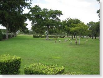 Companion Lawn Crypt for Sale - Cabellero Rivero Palms Woodlands, Naranja, FL - The Cemetery Exchange